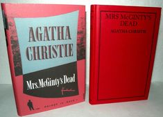 McGinty's Dead - Poirot Is Back ! This Novel forms part of an issue of the Agatha Christie book Collection. Agatha Christie, Dead Man's Folly, At Bertram's Hotel, Partners In Crime, Book Collection, Novels, Positivity, Author, Learning