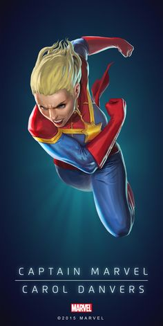 Carol Danvers Captain Marvel Poster-02
