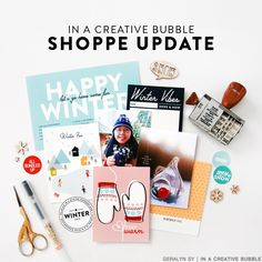 In a Creative Bubble: Shoppe Update | Wonderland Collection