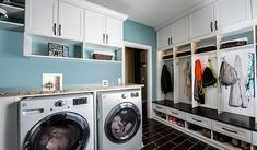Closet works mudroom and laundry room cabinets storage solutions - 1 Mudroom Laundry Room, Laundry Room Cabinets, Laundry Room Organization, Laundry Room Design, Storage Cabinets, Storage Shelves, Shelving, Shoe Shelves, Diy Cabinets