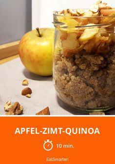 Apfel-Zimt-Quinoa / http://eatsmarter.de/rezepte/apfel-zimt-quinoa