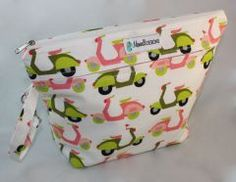 Diaper Clutch - Stow It All - Scooters Too - ORGANIC FABRIC