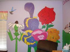 Alice in Wonderland themed room!