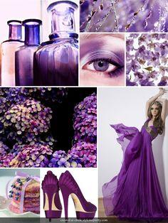 #Violet inspiration board