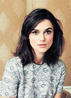 Kiera Knightly is gorgeous, should I cut my hair like this