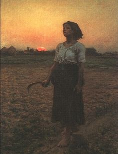 """""""The Song of the Lark"""" by Jules Breton"""
