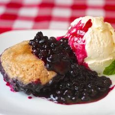 Cinnamon Biscuit Blueberry Cobbler - from Signal Hill, Newfoundland! Spectacular photos of St. John& accompany this warm summer blueberry dessert recipe. Rock Recipes, Sweet Recipes, Real Food Recipes, Baking Recipes, Dessert Recipes, Blueberry Desserts, Blueberry Cobbler, Blueberry Sauce, Blueberry Shortcake