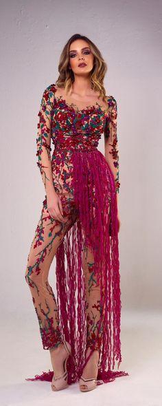 Tony Chaaya 2018 collection - Couture - http://www.orientpalms.com/Tony-Chaaya-7199