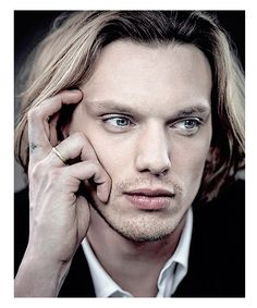 Jamie Campbell Bower He is so much better than the Shadowhunter Series Jace <3