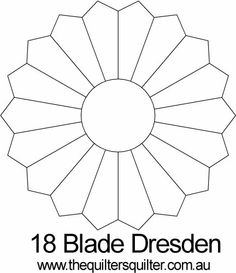 18 Blade Dresden or Rosette