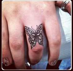 Lace butterfly tattoo, butterfly tattoo designs, lace tattoo, small h Lace Butterfly Tattoo, Butterfly Tattoo Meaning, Butterfly Tattoo On Shoulder, Butterfly Tattoos For Women, Butterfly Tattoo Designs, Lace Tattoo, Butterfly Images, Trendy Tattoos, Small Tattoos