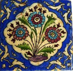 Persian tile.
