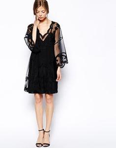 ASOS Gothic Kimono Dress
