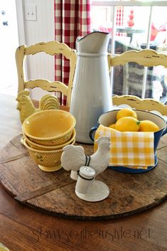 Savvy Southern Style: table