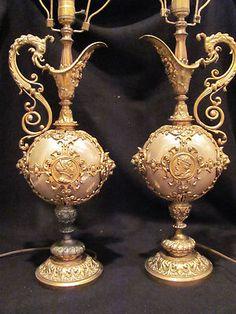 Vintage Hollywood Regency lamps