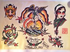 #Tattooflash #repaint #sailawaytattoo #traditional #flash #spitshade Traditional Tattoo Design, Traditional Flash, Tattoo Inspiration, Horns, Sailor, Tattoo Designs, Tattoos, Tatuajes, Horn