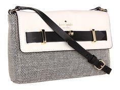 Kate Spade New York Bourbon Street Fabric Carmine Black/Cumulus - Zappos Couture