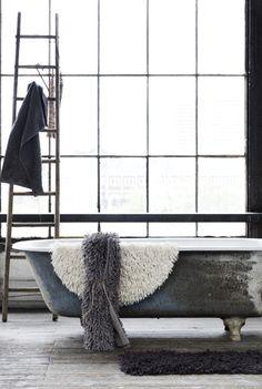 bathroom, bath, interior, my scandinavian home
