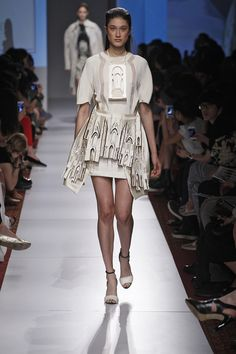 Francine Frohlich | 25 Of The Best Student Designs From Parsons' Fashion Show