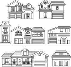 vector house elements clip art - Google Search