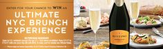 I just entered to win a trip to NYC for an ultimate brunch experience, sponsored by Ruffino. Enter here for your chance to win!