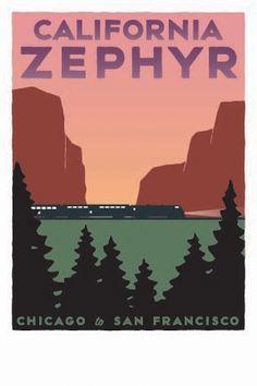 Chicago, Burlington and Quincy Railroad ~ Denver and Rio Grande Western Railroad ~  Western Pacific Railroad