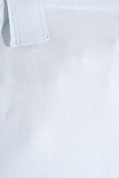 Helmut Lang - Crepe Top - Sky blue -