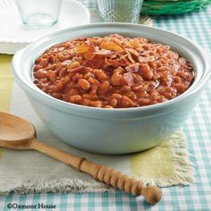 Gooseberry Patch Recipes: Grandma Dumeney's Baked Beans from Big Book of Holiday Cooking Cookbook
