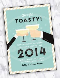 2014 New Year Party Ideas, New Years Party Invitation #2014 #new #year #party #invitation www.loveitsomuch.com