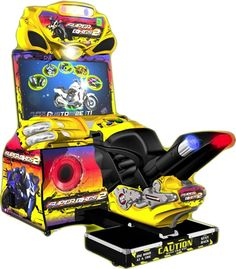 PLAYDIUM STORE - CANADIAN DISTRIBUTOR - Super Bikes 2 - Coin-Op, The All-New Motorcycling Simulator