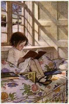 Story Books    Vintage Image by OldDrawingsAndPhotos on Etsy, $4.90