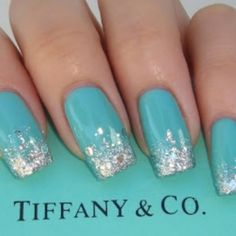 Tiffany's It would be fun to do the ring finger in blue for the something blue! :)