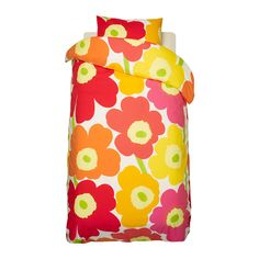 marimekko unikko modern floral yellowlime duvet cover set full 100 cotton marimekko modern finnish fabric to know and love pinterest marimekko