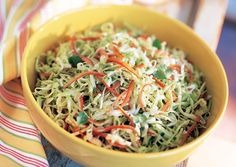 South-of-the-Border Coleslaw with Cilantro and Jalapeño - Bon Appétit
