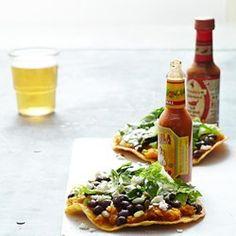 Butternut Squash & Black Bean Tostadas - EatingWell.com