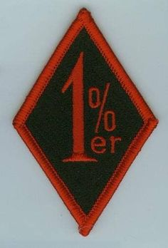 The diamond badge of the criminal biker gangs (Hells Angels, Pagans, Outlaws, Mongols, the fictional Sons of Anarchy). Same percentage as those in control of out nation's wealth. Biker Clubs, Motorcycle Clubs, Women Motorcycle, Scrambler Motorcycle, Motorcycle Jacket, Outlaws Motorcycle Club, Harley Davidson Engines, Biker Quotes, Hells Angels