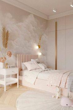 Luxury Kids Bedroom, Room Design Bedroom, Girl Bedroom Designs, Small Room Bedroom, Room Ideas Bedroom, Home Bedroom, Modern Bedroom, Bedroom Decor, Girls Bedroom
