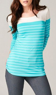 Anderson Top in Greek Turquoise...I should be doing homework :-P