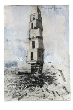 Collage, Anselm Kiefer.