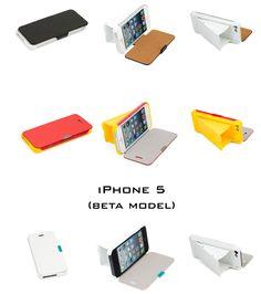 Flip Case for iPhone 5/S SmartSound Case (Beta Model)