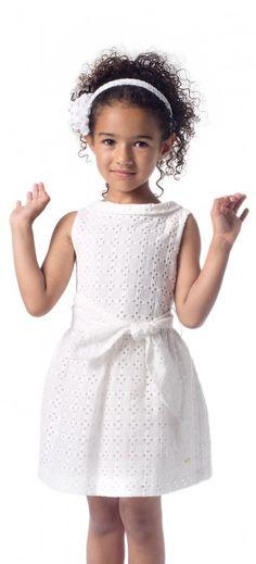 ·. ¸ƙỈɗʂ.¸¸. Pili Carrera menina Baby Dress Design, Baby Girl Dress Patterns, Little Girl Dresses, Girls Dresses, Flower Girl Dresses, Little Girl Fashion, Kids Fashion, African Dresses For Kids, Kids Frocks