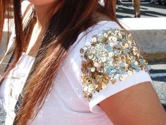 Guria, que babado!: Inspiração: Customização de roupas