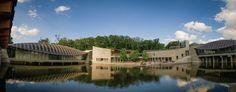Crystal Bridges Museum of Art, Bentonville, Arkansas http://crystalbridges.org/architecture/moshe-safdie/