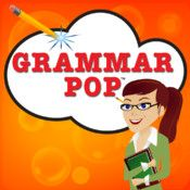 Grammar Pop ipad app (cost): A fun word game for adults and a great way for kids to learn parts of speech. Match words with parts-of-speech to pop clouds and progress from nouns and verbs to gerunds and participles. Teaching Grammar, Grammar Lessons, Teaching English, English Grammar, Grammar Help, Grammar Games, Grammar Tips, Grammar Practice, English Teachers