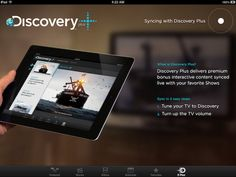 "Discovery Channel adds ""Plus"" second screen feature to iOS app - The interactive button on TV channels really took off with the digital age, allowing users to watch TV and have cool information, special features, and o..."