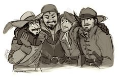The Musketeers - a bromance like no other.