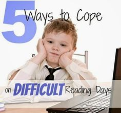 5 Ways to Cope on Difficult Reading Days | Under the Golden Apple Tree