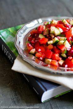 Under the Andalusian Sun food, wine and travel blog: Iranian Shirazi salad