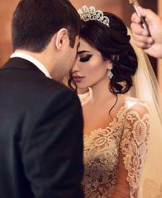 Western Wedding Dresses, Dream Wedding Dresses, Desi Bride, Elegant Wedding Hair, Bridal Makeup Looks, Bride Photography, Groom Outfit, Pre Wedding Photoshoot, Sister Wedding