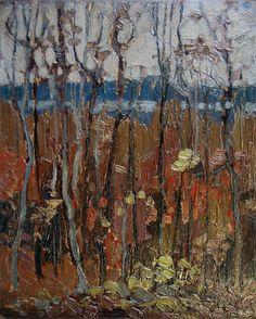 Tom Thomson Catalogue Raisonné | Twilight Woods, Fall 1916 (1916.129) | Catalogue entry